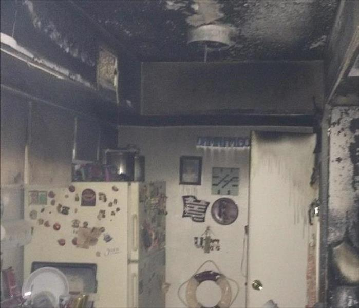 Fire Damage SERVPRO of Greater Waco Smoke and Soot Cleanup